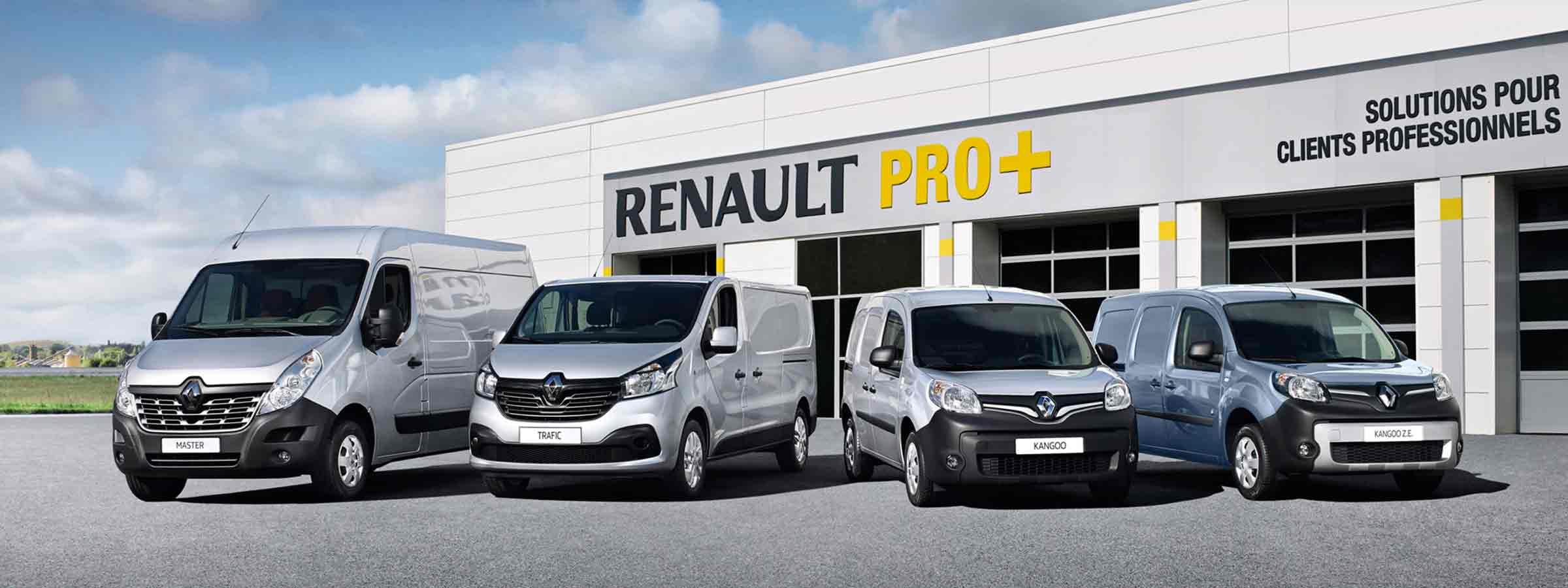 Renault Pro+ Profi Nutzfahrzeuge für Firmenkunden Garage Galliker Gruppe