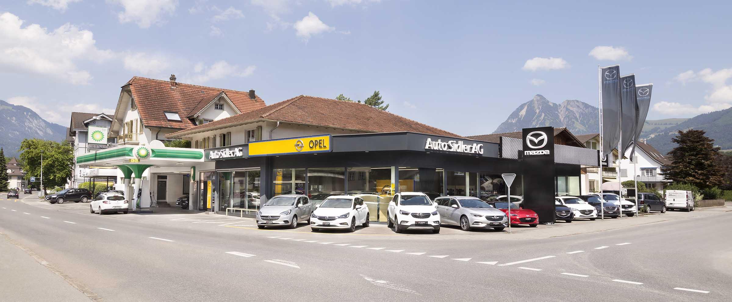 Auto Sidler Sarnen Obwalden - Galliker Gruppe