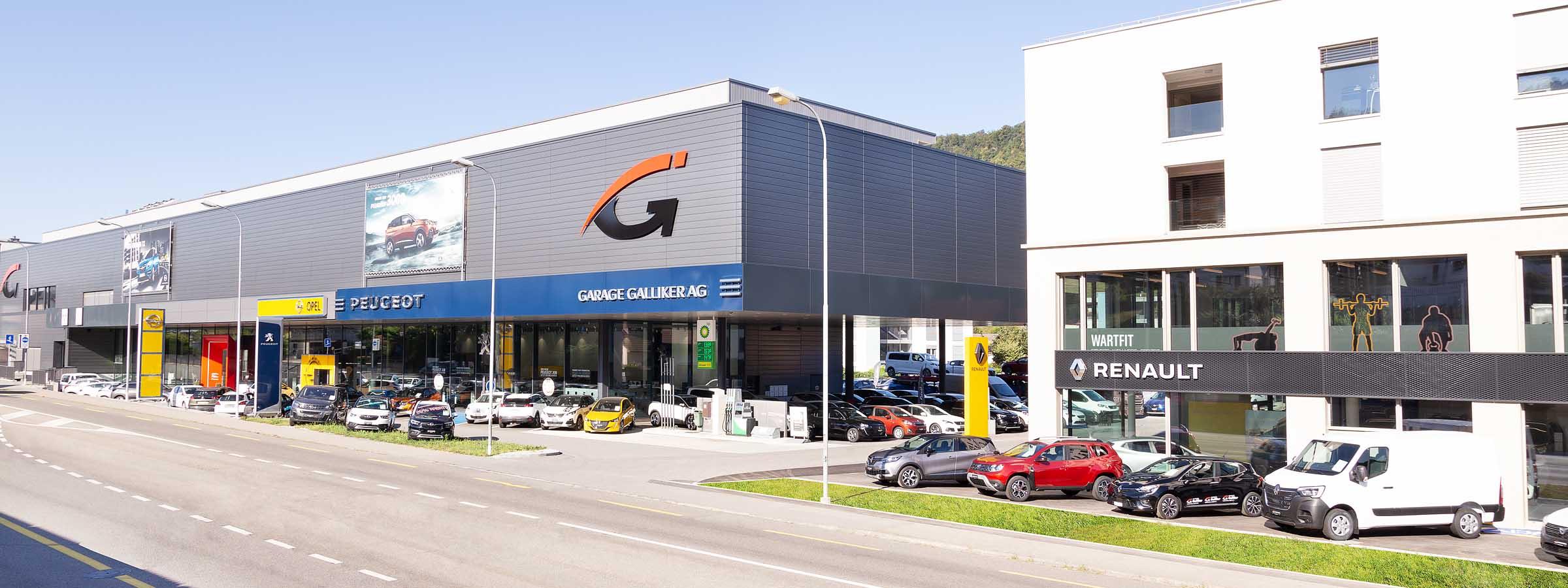 Garage Galliker Aarburg Aargau