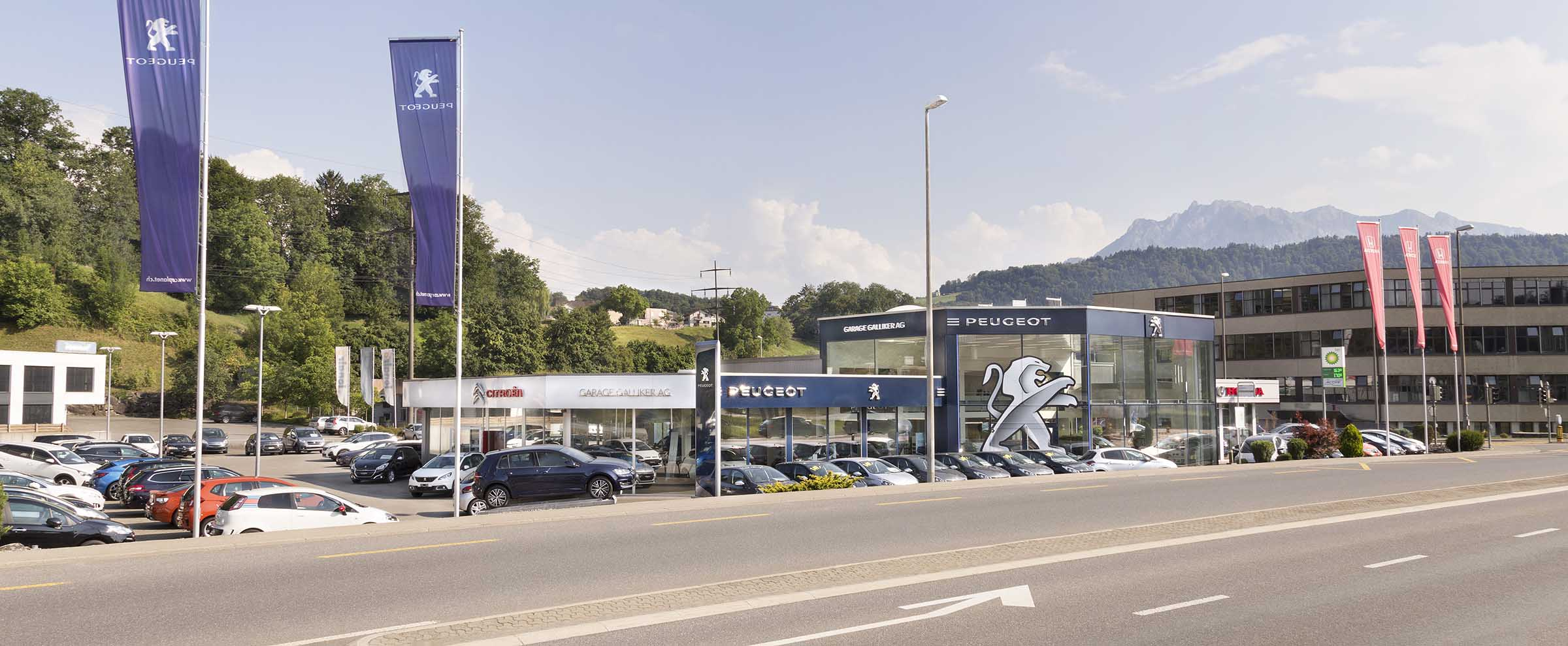Garage Galliker Luzern Littau