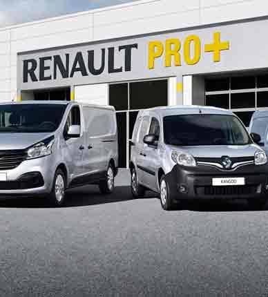 Renault Pro+ - Offizieller Stützpunkt - Garage Galliker Kriens Luzern